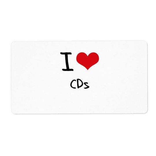 I love CDs