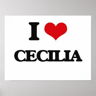 I Love Cecilia Poster
