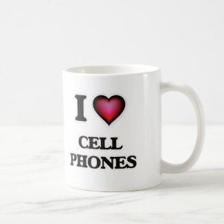 I love Cell Phones Coffee Mug