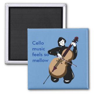 i love cello music magnet