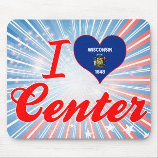 I Love Center, Wisconsin Mousepad