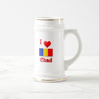 I Love Chad Beer Stein