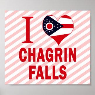 I love Chagrin Falls, Ohio Print
