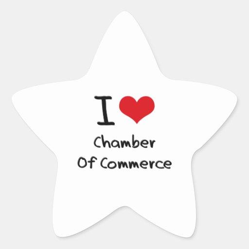 I love Chamber Of Commerce Sticker