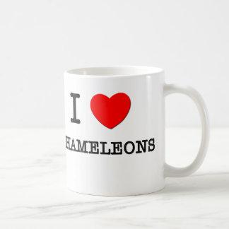 I Love Chameleons Coffee Mug
