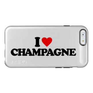 I LOVE CHAMPAGNE INCIPIO FEATHER® SHINE iPhone 6 CASE
