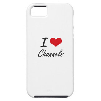 I love Channels Artistic Design Case For The iPhone 5