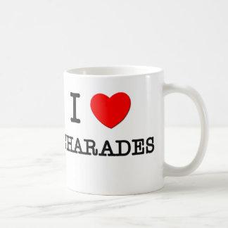 I Love Charades Coffee Mug