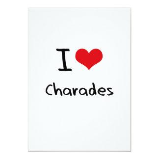 I love Charades Personalized Invite