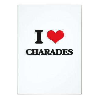 I love Charades Cards