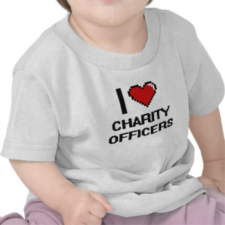 I love Charity Officers Tee Shirts
