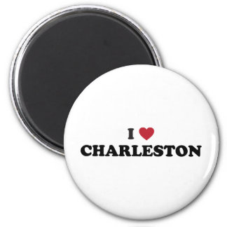I Love Charleston South Carolina Magnet