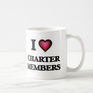 I love Charter Members Coffee Mug