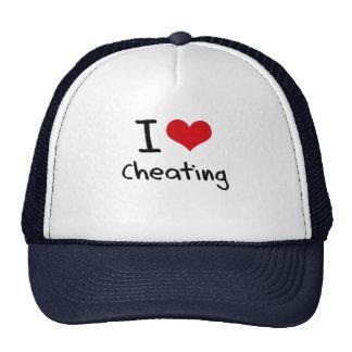 I love Cheating Trucker Hat