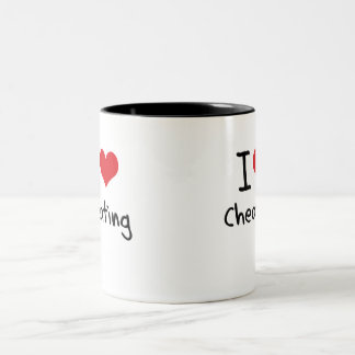 I love Cheating Two-Tone Coffee Mug