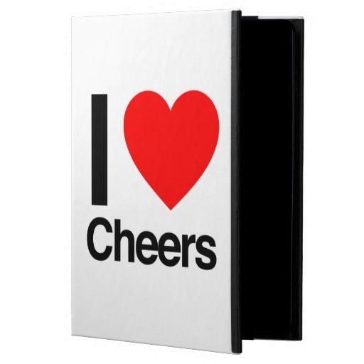 i love cheers iPad air cover