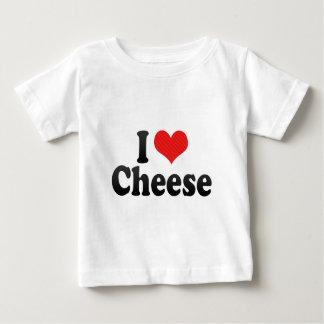 I Love Cheese Baby T-Shirt