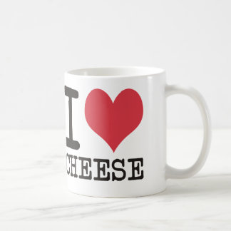 I Love Cheese - Candy - Cereal Products & Designs! Classic White Coffee Mug