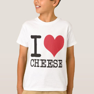 I Love Cheese - Candy - Cereal Products & Designs! T-Shirt