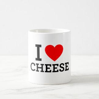 I Love Cheese Coffee Mug