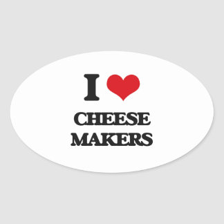 I love Cheese Makers Sticker