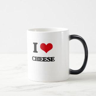 I love Cheese 11 Oz Magic Heat Color-Changing Coffee Mug