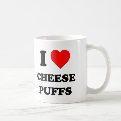 I Love Cheese Puffs ( Food ) Coffee Mugs