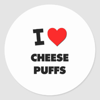I Love Cheese Puffs ( Food ) Sticker