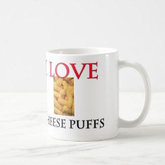 I Love Cheese Puffs Mugs