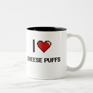 I Love Cheese Puffs Two-Tone Coffee Mug
