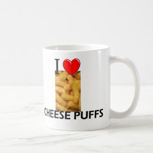 I Love Cheese Puffs Coffee Mug