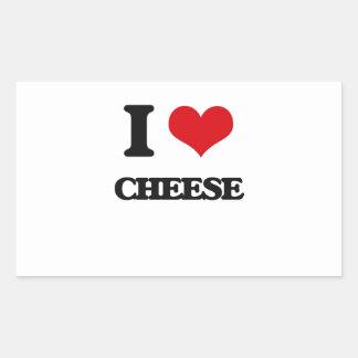I Love Cheese Sticker