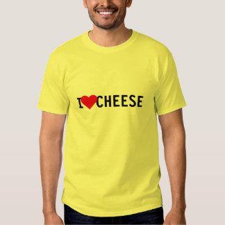 I Love Cheese Tshirts
