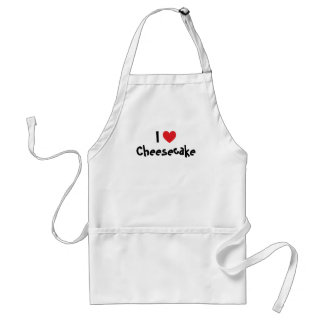 I Love Cheesecake Standard Apron
