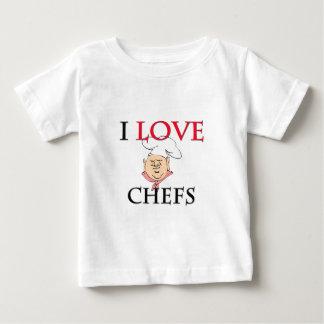 I Love Chefs Baby T-Shirt