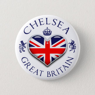 I Love Chelsea 2 Inch Round Button