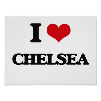 I Love Chelsea Poster