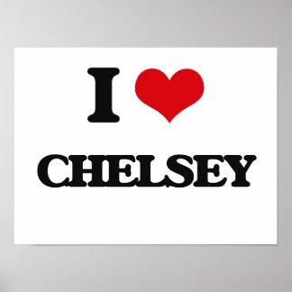 I Love Chelsey Poster