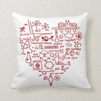 I Love Chemistry Chemist Gift Throw Pillow