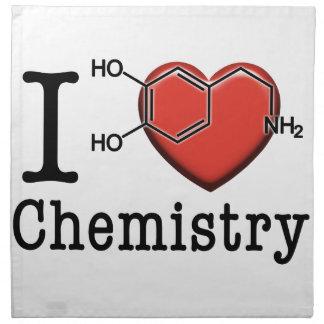 I Love Chemistry Napkin