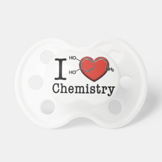 I Love Chemistry Pacifiers