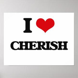 I Love Cherish Poster