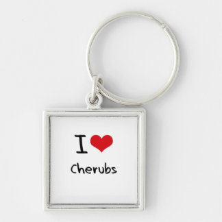 I love Cherubs Keychains