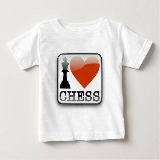 I Love Chess Baby T-Shirt