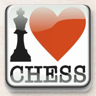 I Love Chess Coaster