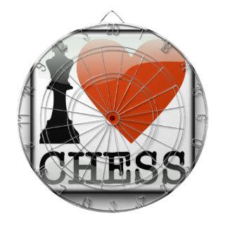 I Love Chess Dartboard