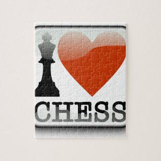 I Love Chess Jigsaw Puzzle