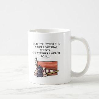 i love chess player coffee mug