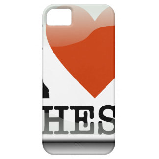 I Love Chess Sign Case For The iPhone 5