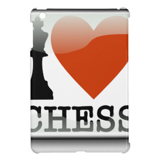 I Love Chess Sign Cover For The iPad Mini